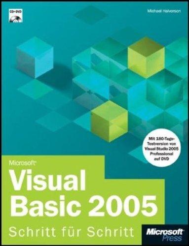 Microsoft Visual Basic 2005 - Schritt für Schritt, m. CD-ROM u. DVD