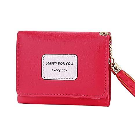 Amazon.com: Ladies Purses Female Leather Wallets Women Short Zipper Purse Woman Wallet Card Holder Clutch Femme Brand: Kitchen & Dining
