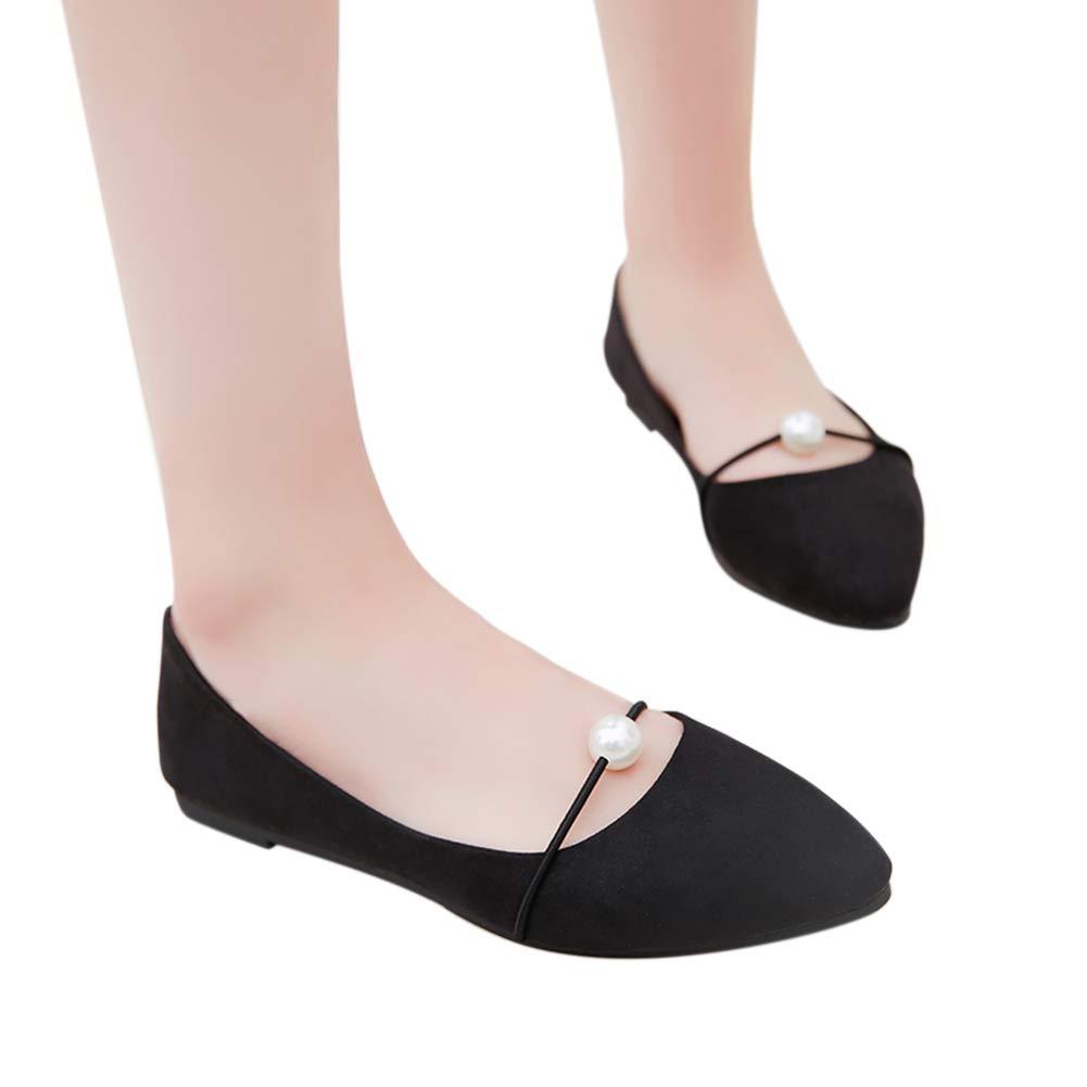 soft black flat shoes