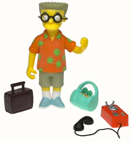 The Simpsons Series 10 Action Figure Resort Smithers