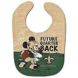 "New Orleans Saints Mickey Mouse Disney""Future Quarterback"" Bib"