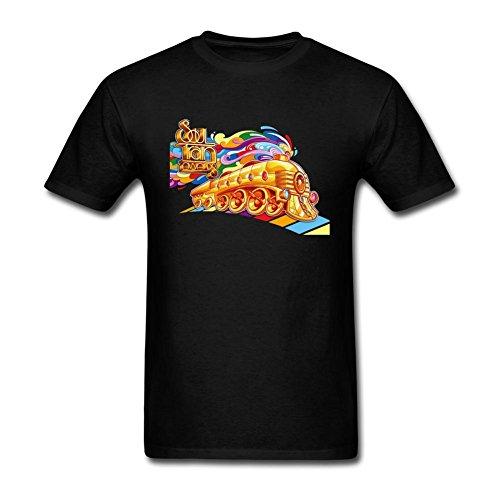 SAMMA Men's Soul Train Design Cotton T Shirt ()