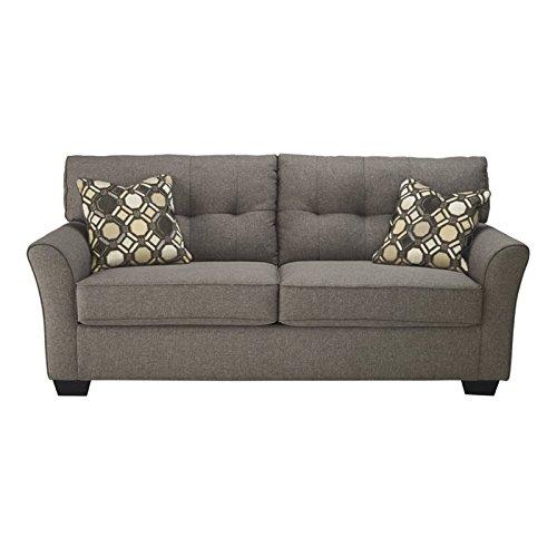 Discount Furniture Milwaukee: Ashley Tibbee 9910138 78″ Stationary Fabric Sofa With