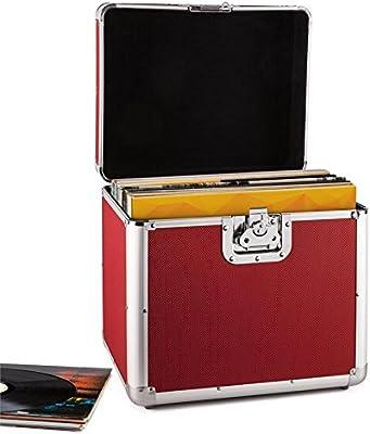 Resident DJ Zeitkapsel Caja de Aluminio para vinilos (Capacidad de ...