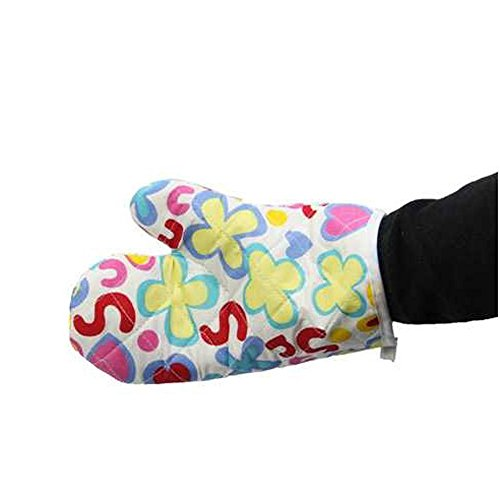 ️ Yu2d ❤️❤️ ️Cooking Cotton Microwave Oven Gloves Mitts Pot Pad Heat Proof Protected by ❤️ Yu2d ❤️_ Home & Kitchen (Image #1)