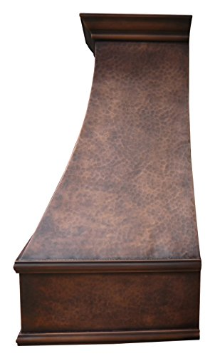 Sinda H7lt Copper Range Hood With Profession Liner