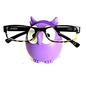 Owl Glasses Sunglasses Eyeglass Holder Stand Display Rack Smartphone Holder, Random Mix, One Size Fits Most