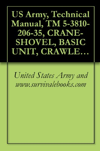 - US Army, Technical Manual, TM 5-3810-206-35, CRANE-SHOVEL, BASIC UNIT, CRAWLER MTD, 40-TON, 2 CU YD, DIESEL DRIVEN (W/HARNISCHFEGER ENGINE MODEL 687C-18-ES) ... (HARNISCHFEGER MODEL 855BG) (NSN 3810-00-6