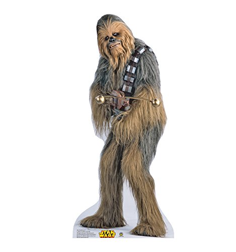 Chewbacca - Star Wars Classics (IV-VI) - Advanced Graphics Life Size Cardboard (Halloween Decorations Made At Home)