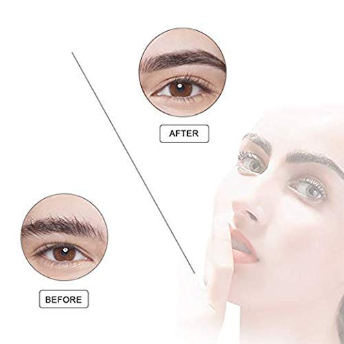 Electric Flawless Brows Eyebrow Hair Remover, Women's Painless Hair Remover for Nose, Eyebrow Hair, Face Lip, Flawlessly Brow Hair Remover Arishine(no battery) by Arishine (Image #3)