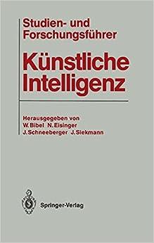 Book Studien- und Forschungsführer Künstliche Intelligenz
