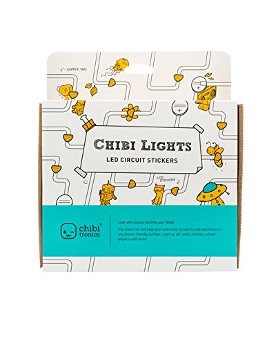 Chibitronics - Chibi Lights - LED Circuit Stickers STEM Starter Kit