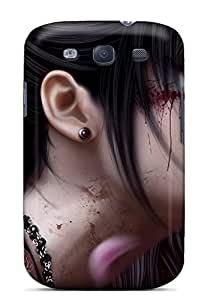 (YvMhE739vtOxX)durable Protection Case Cover For Galaxy S3(fantasy Warrior Girl)
