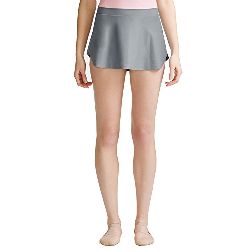 Capezio Womens The Call Back Skirt (10586W) -Earl Gray (Capezio Womens Skirt)