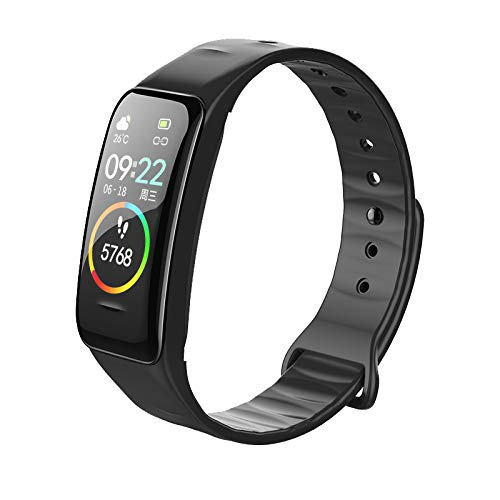 Juya Fitness Tracker with Heart Rate Monitor, Activity Tracker Watch, Waterproof Smart Fitness Band with Step Counter, Calorie Counter, Pedometer Watch for Kids Women and Men for Android iPhone