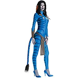 Ultimate Halloween Costume UHC Women's Neytiri Avatar Party Outfit Halloween Themed Party Fancy Costume, L (12-14)