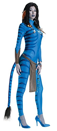 Ultimate Halloween Costume UHC Women's Neytiri Avatar Party Outfit Halloween Themed Party Fancy Costume, S (4-6)]()