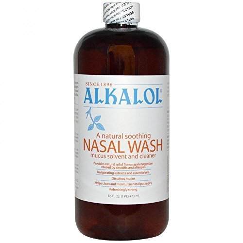 Alkalol Nasal Wash (Alkalol Company - Alkalol Mucus Solvent and Cleaner - 16 oz. by)