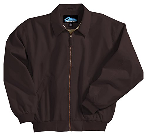 Achiever Microfiber Jacket with Poplin Lining, Color: Midnight Charcoal, Size: XXXX-Large - Weather Microfiber Jacket