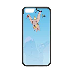Dumbo Elephant Disney Productive Back Phone Case For Apple Iphone 6 Plus 5.5 inch screen Cases -Pattern-5