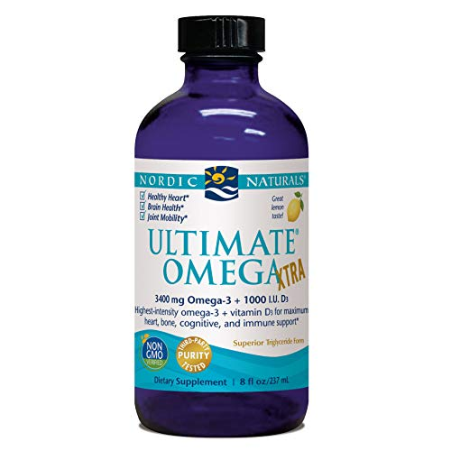 Nordic Naturals - Ultimate Omega Xtra, Support for a Healthy Heart, 8 Ounces (FFP)