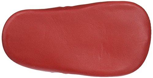 Leon Shoes Unisex Baby Peuque Blucher Stiefeletten Rot (Rot)