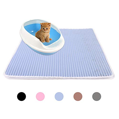 ROODO Cat Litter pad Cat Scratch pad Double Layer Cat Litter mat