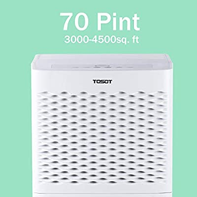 TOSOT Energy Star Dehumidifier - for Basements, Large Rooms, and Whole House