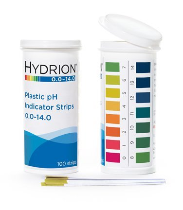 phydrion (9400) Pro Ph Plastic Indicator Strips 100 Strips- Spectral 5.0-9.0 by MicroEssential (Ph Indicator Lab)