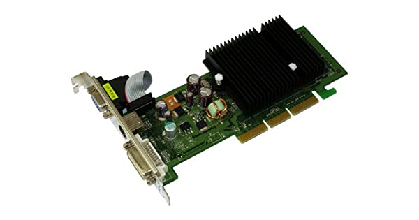 Amazon.com: PNY GeForce 6200 512 MB AGP DVI + VGA + S-video ...