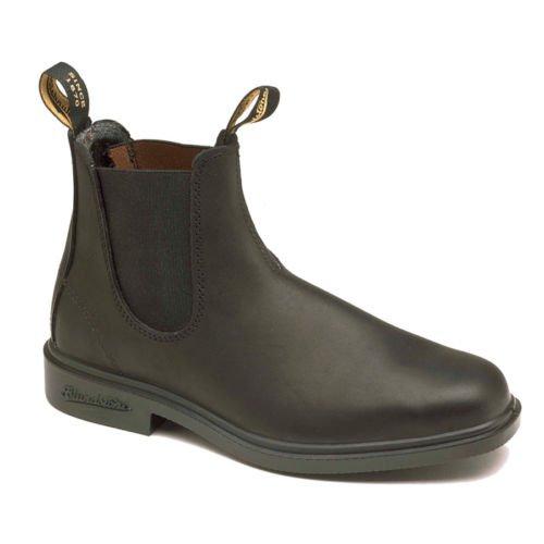 Blundstone 063 Boots Premium Chelsea Bottes en Cuir Noir Classiques