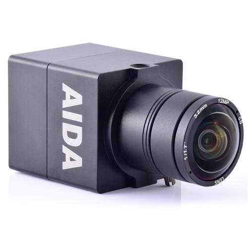 AIDA UHD-100 Micro 4K Ultra HD HDMI 1.4 Professional EFP/POV Camera with 3.6mm Lens, 29.97fps by AIDA