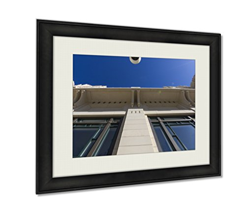 Ashley Framed Prints, Bass Performance Hall Fort Worth Tx, Wall Art Decor Giclee Photo Print In Black Wood Frame, Ready to hang, 20x25 Art, - Sundance Worth Square In Texas Fort