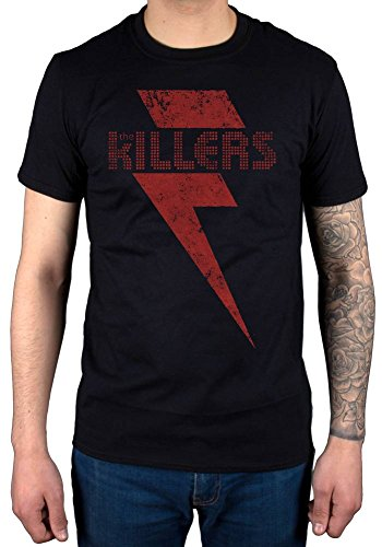 Official The Killers Red Bolt T-Shirt Hot Fuss Sam
