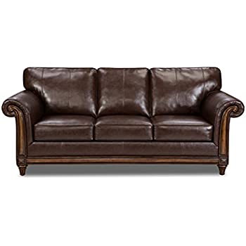 Simmons upholstery editor bonded leather sofa for Edit 03 sofa