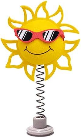 White /& Black Sunglasses - Fits Thick Fat Style Antenna Coolballs California Sunshine w Sunglasses Car Antenna Topper//Rear View Mirror Dangler//Desktop Spring Stand Bobble