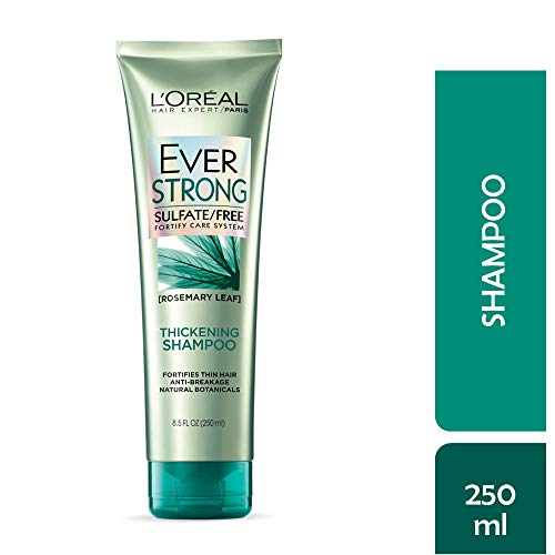 L'Oreal Paris EverStrong Thickening Shampoo Rosemary, 8.5 Fluid Ounce ()
