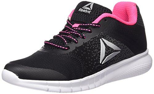 Reebok Damen Instalite Run Laufschuhe Schwarz (Black/Coal/White/Solar Pink/Silver)