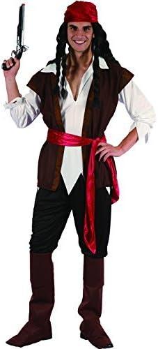 Funtastik - Disfraz de Jack Sparrow para hombre: Amazon.es ...