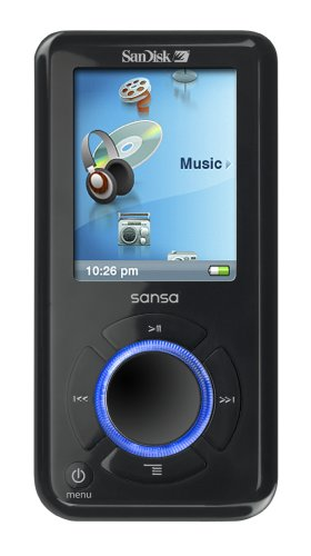 SanDisk Sansa e280 8 GB MP3 Player (Black)