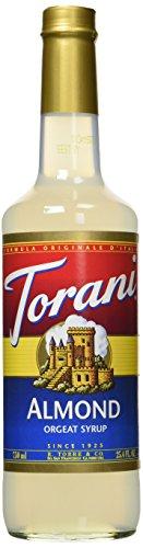 - Torani Almond Orgeat Syrup, 25.4 Ounce