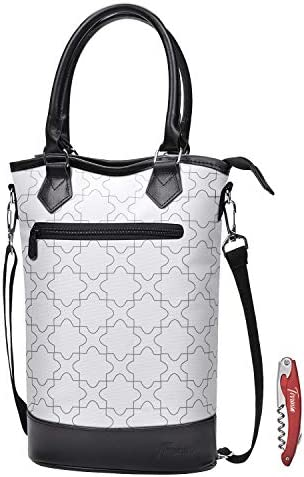 Tirrinia Insulated Wine Carrier Tote product image