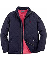 Boy\u0027s Quilted Jacket, X-Large(18-20 yrs), Navy
