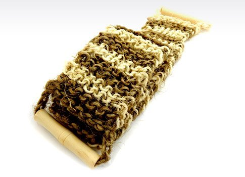 MAGNUM Bath Belt - Back Scrubber - Massager with Wooden Handles and Natural Sisal DSB Ltd.