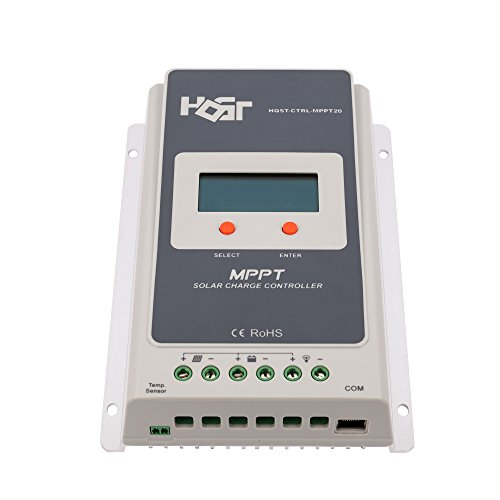 HQST 20A MPPT Solar Charge Controller Multiple Load Control