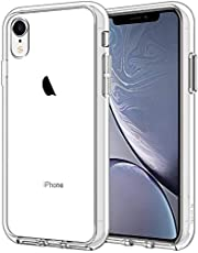 JETech Case for iPhone XR 6.1-Inch, Shock-Absorption Bumper Cover (HD Clear)