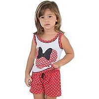 Baby Doll em Malha Estampa Minnie Vermelho
