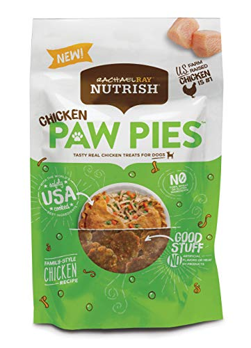 Rachael Ray Nutrish Chicken Paw Pies Dog Treats, 12 oz.