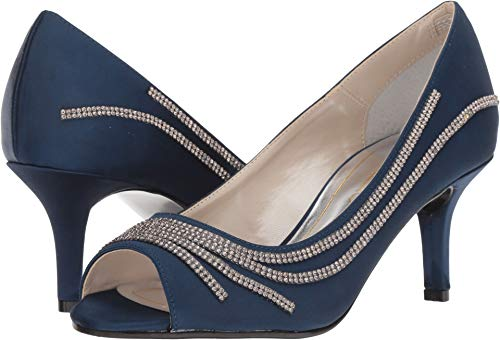 Caparros Women's oz Navy New Satin 5.5 B US