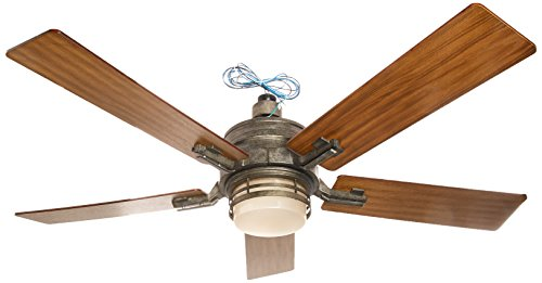 This Is An Antique Style 54 Inch Ceiling Fan That Offers Top Quality And  Classic Style To Any Room. The Armhurst Features Four Honey Oak Reversible  Blades ...